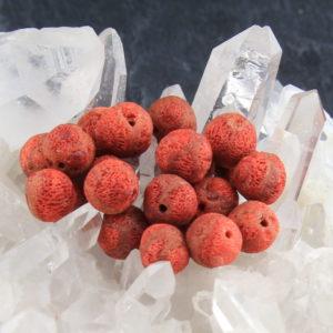 Rote Schaumkoralle matt