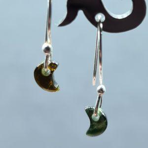 Turmalin grün Ohrhänger
