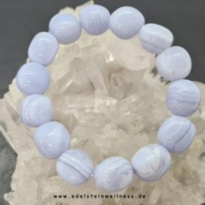Chalcedon blue lace Armband