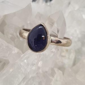 Iolith Cabochon Ring