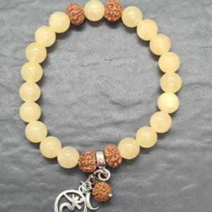Orangencalcit Chakra Armband