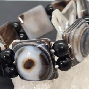 Botswana Achat Armband